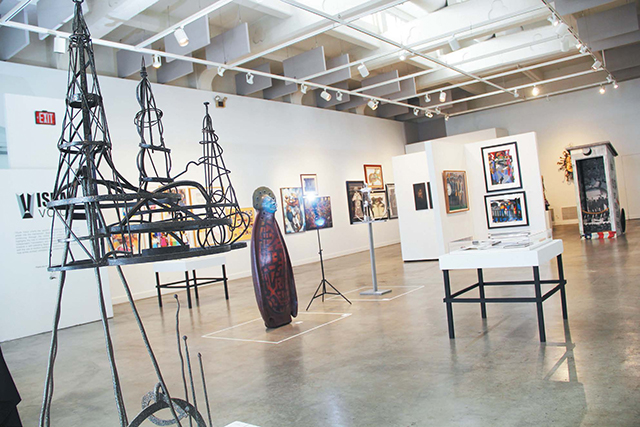 Visual Voice Exhibit at the Riverside Art Museum