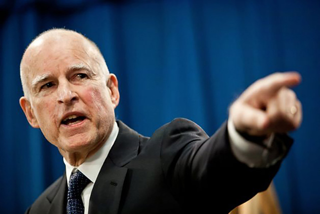 "Governor Jerry Brown Proclaims, ""The Drought is Over"""
