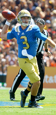 Bruins quarterback Josh Rosen