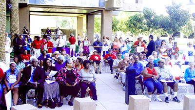 Hundreds in Riverside Commemorate 1963 March