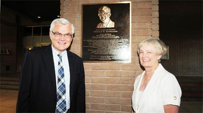 City Hall Breezeway Renamed for Former Mayor
