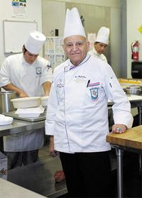 RCC Culinary Arts Director Wins Prestigious Antonin Carême Medal
