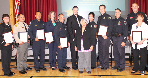 Rep. Negrete McLeod Honors Local Public Safety Officers