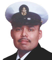 Victor Torres, Chief Logistics Specialist for U.S. Navy