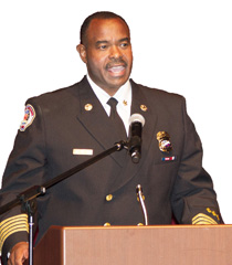 Chief Mike Moore, Riverside City Fire Department