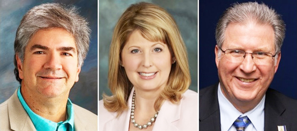 A Feb. 18 seminar on the shortage of affordable housing will feature (from left) Steve PonTell, president and CEO of National Community Renaissance, San Bernardino County Supervisor Janice Rutherford, and former Riverside planning director Ken Gutierrez.