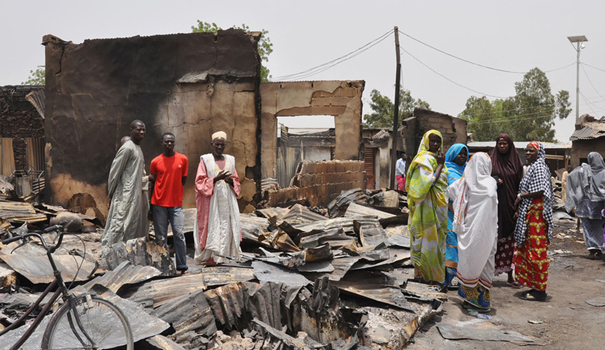 A small part of the devastation wrought by Boko Haram