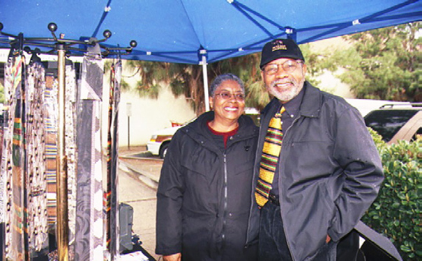 Don with wife Celeste Griggs.