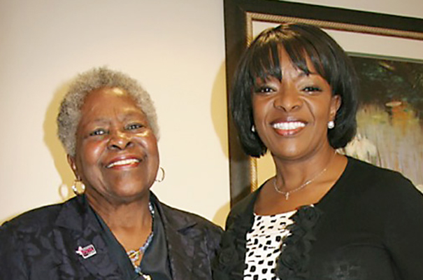 Lois with Beverly White