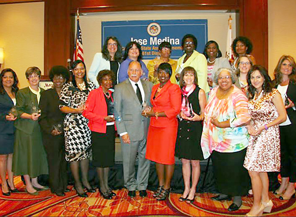 Asm. Jose Medina Honors the 61st Assembly District Women of Distinction