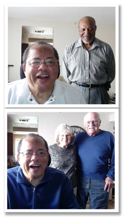 Top: Rev. Art Forbes Bottom: Dr. E Neal & Lorilee Roberts