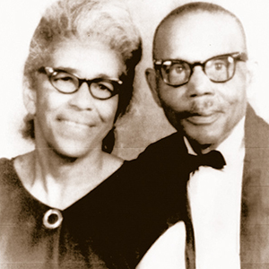 Floyd and Essie Brown