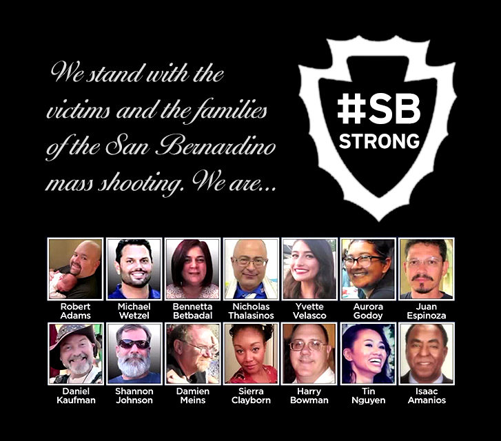 State Assembly Honors Victims of San Bernardino Terrorist Attack