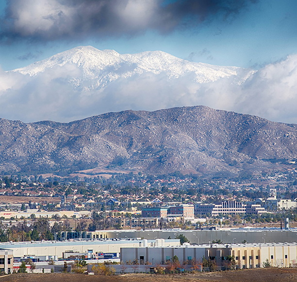 The effects of the ongoing drought on the Inland Empire landscape. Photo by Patrick Edgett