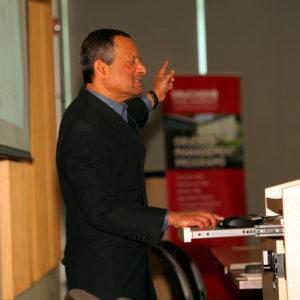 Professor Christopher Gopal (Drucker School of Management)