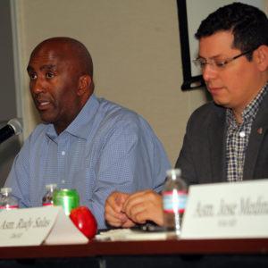 Asm. Members Jim Cooper (Elk Grove) and Rudy Salas (Bakersfield)