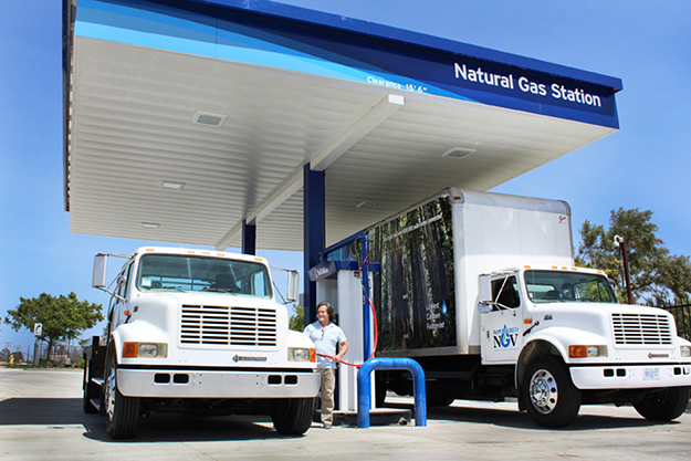 SoCalGas Murrieta Fueling Station provides easy access for natural gas-powered trucks, buses, autos and fleets