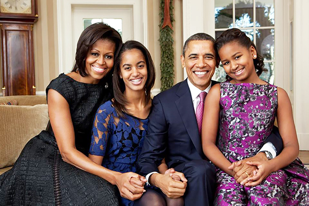 first_black_family_obamas