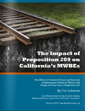 Proposition 209's Costly Impact on California's MBWEs