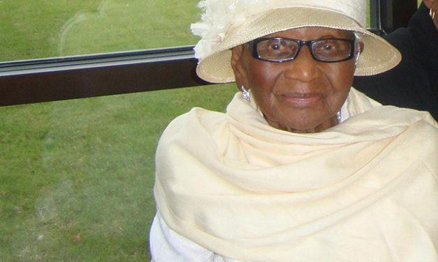 Beloved Centenarian Slips Away