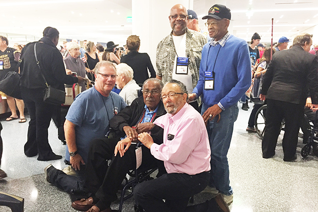 Honor Flight Salutes Veterans