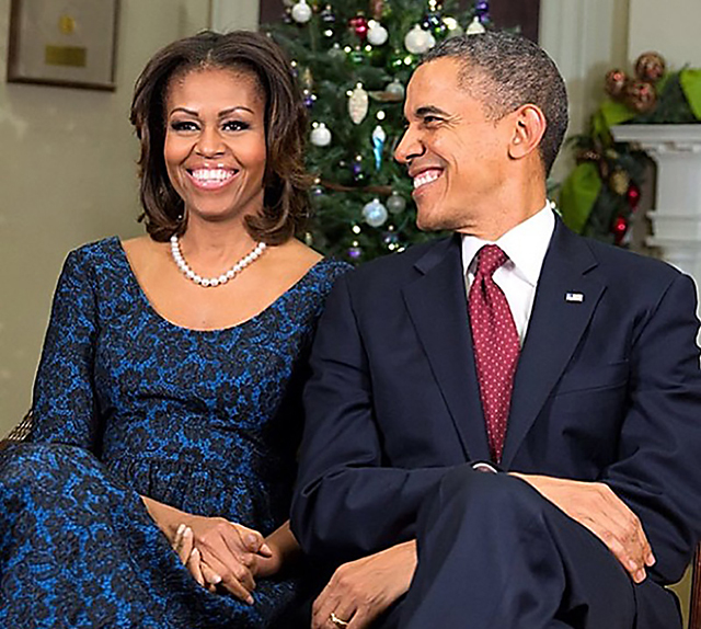 President, First Lady Offer Reflections on the Holiday Season