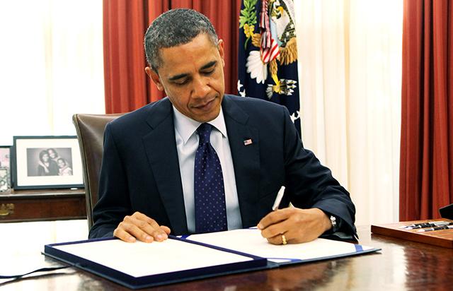Obama Signs His Final Legislation