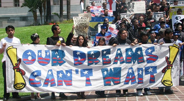 Dreamer Applications for College Grants are Down