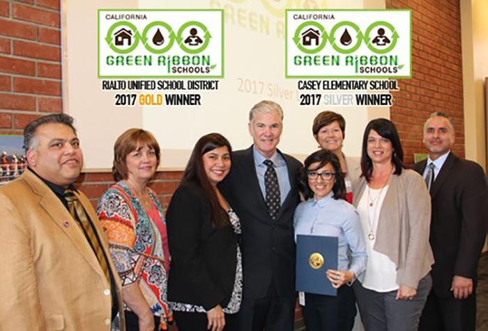 "Congratulations to Rialto's ""Green Ribbon Schools"" Award Winners"