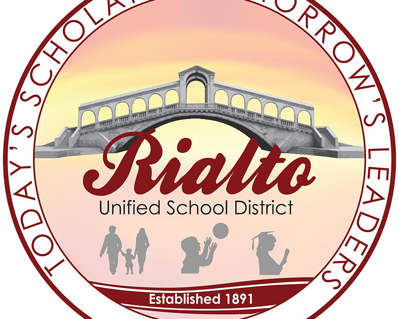 I Heard Through The Grapevine…What's Going On In Rialto USD