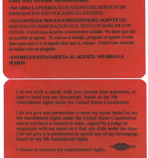 Red Cards and Constitutional Rights