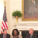Mayor Warren Discusses Infrastructure with President Trump