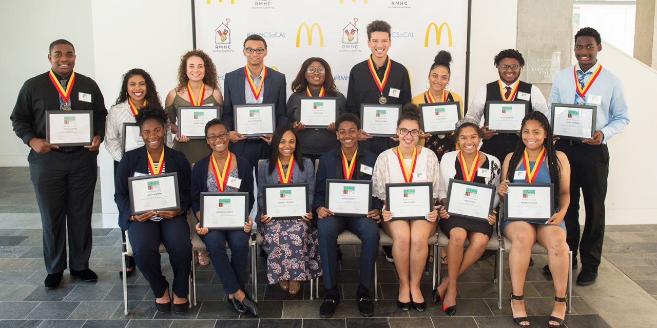 Ronald McDonald House Charities Award Scholarships to Inland Area Students