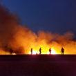 Inland Area Brush Fire