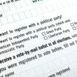 California's Voter Registration Card Revised