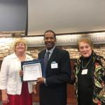 Dr. Reginald Woods Honored