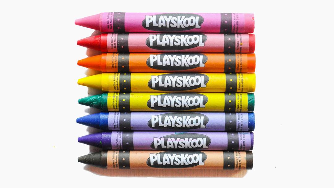 Warning About PlaySkool Brand Crayons