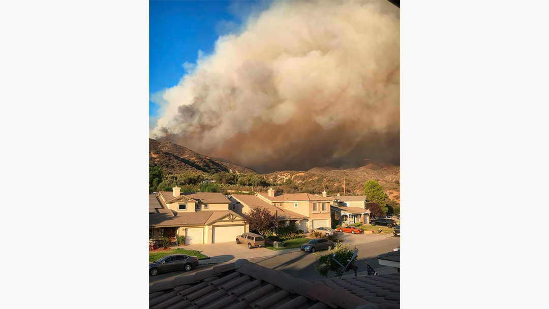 Firefighters Gain Upper Hand on Holy Fire
