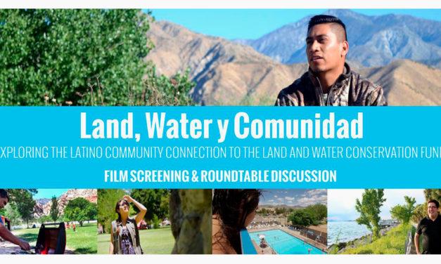 """Land, Water and Comunidad"""