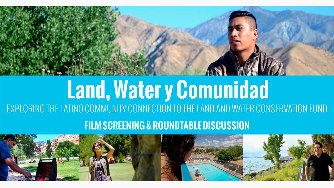 """Land, Water and Comunidad"""