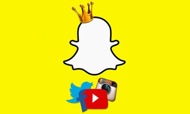 Snapchat Preferred Social Media Platform for Teens