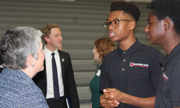 Rancho Verde High School Seniors Learn about UC Admissions