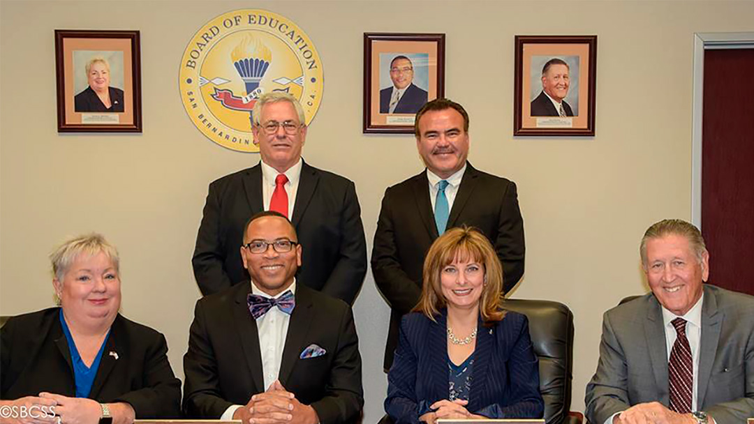San Bernardino County Board of Education Elects New President