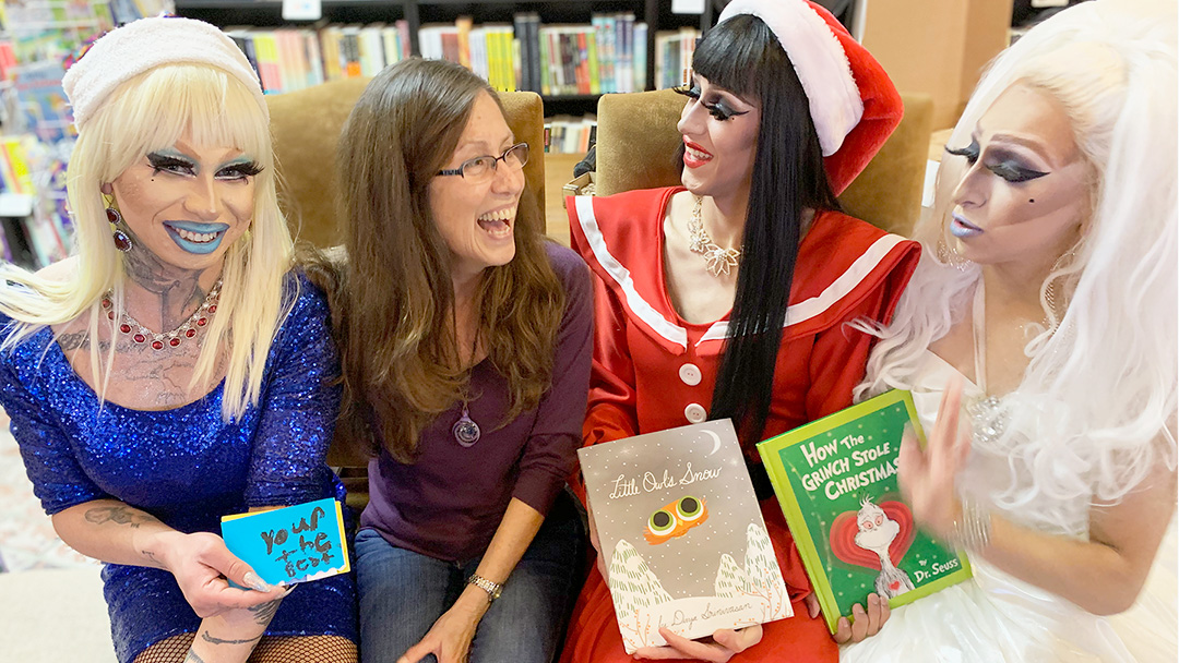 Cellar Door Bookstore Hosts 3rd Drag Queen Storytime