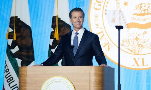 Newsom Shares Vision for California in Inauguration Speech
