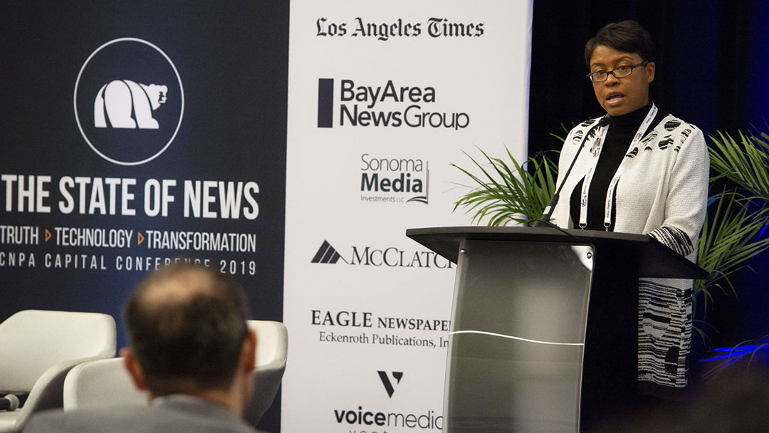 Brown-Hinds Elected First African-American to Lead California's Oldest Press Association