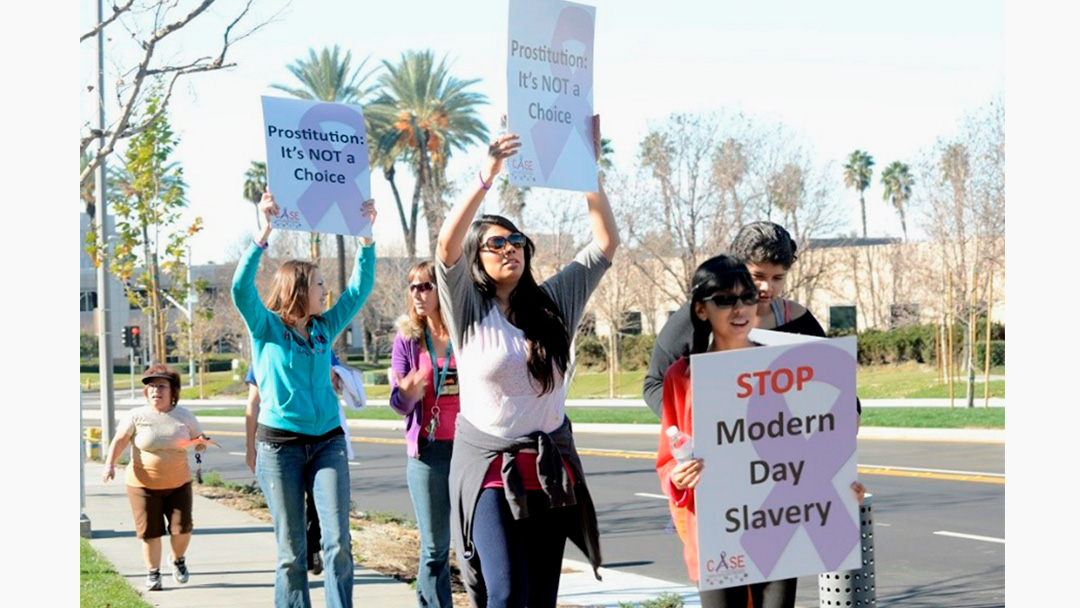 Raising Awareness Regarding the Tragedy of Human Trafficking