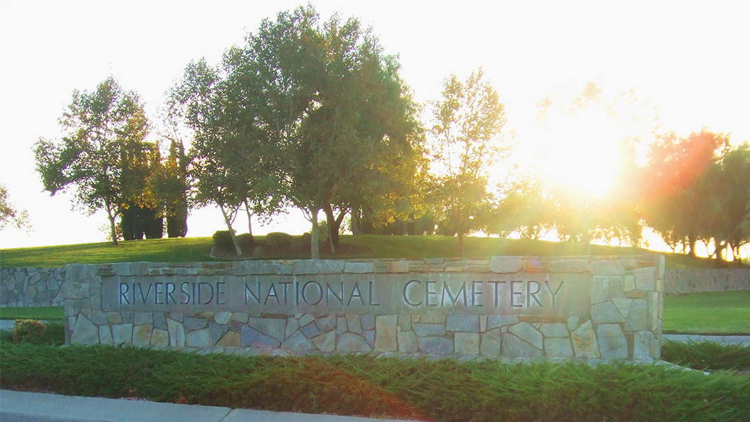Riverside Now Home to America's Largest National Cemetery