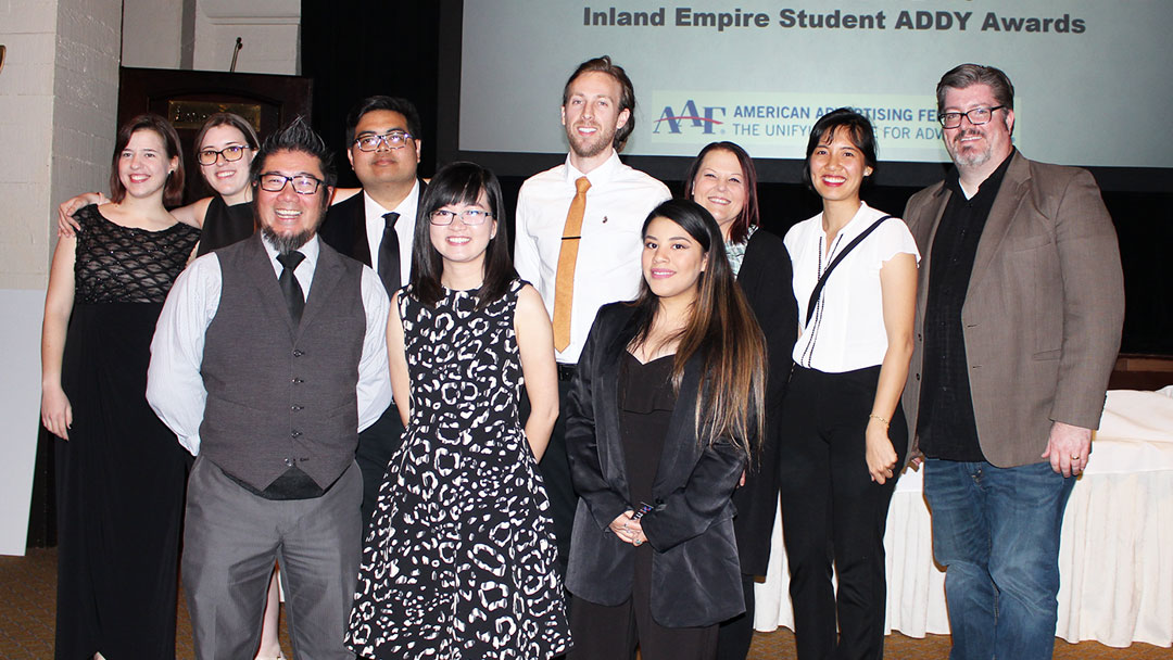 Riverside Students Excel in Advertising Competition