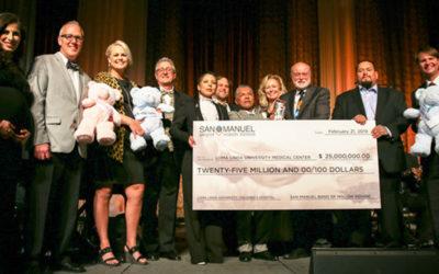 San Manuel Gifts $25 Million to Loma Linda University Children's Hospital